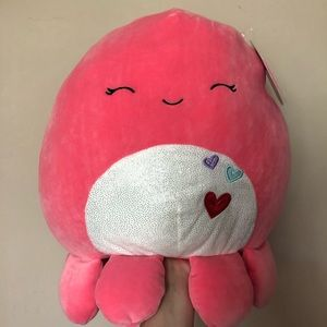 NWT Abby the Octopus Squishmallow